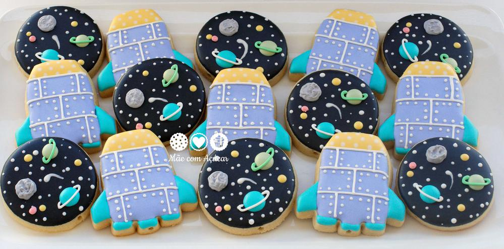 Space Decorated Cookies