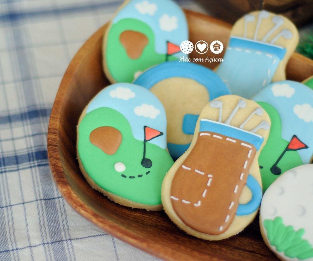 More Golf Cookies!