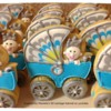 Baby Boy Shower 3D baby carriage