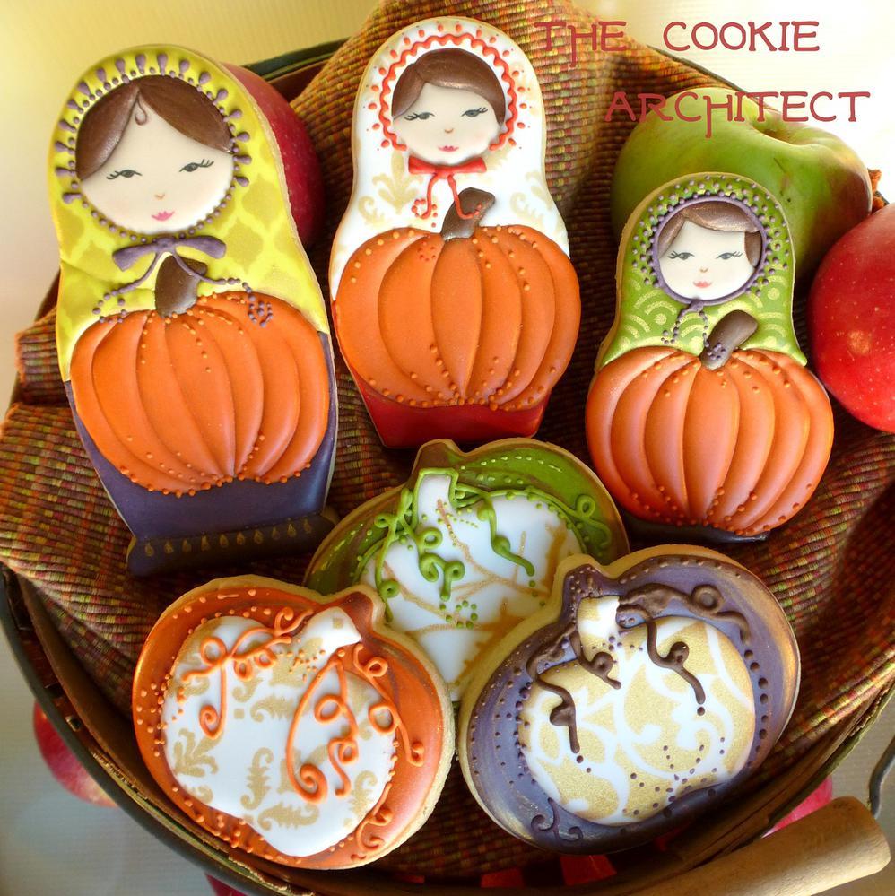 Pumpkin Dolls | The Cookie Architect