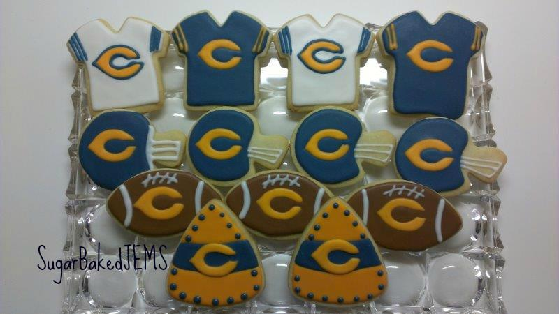 Remarkable Chicago Bears Cookies Cookie Connection Funny Birthday Cards Online Fluifree Goldxyz