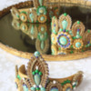 3-D Cookie Tiaras: Cookies and Photo by Julia M Usher