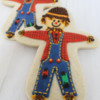 Scarecrow Decorated Cookies