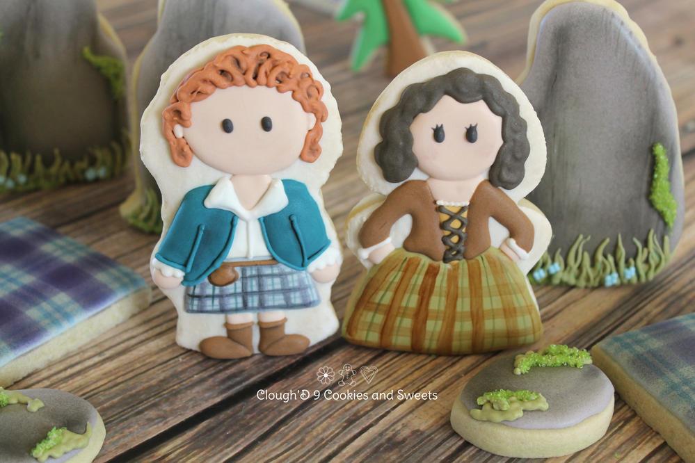 """""""Outlander"""" Cookies"""