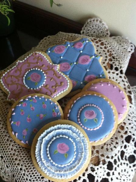 Cookies made in SweetAmbs Class