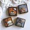 Minion Halloween cookies