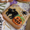 Halloween, spiders and pumpkins