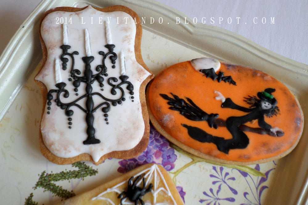 Halloween Witch and Sconce