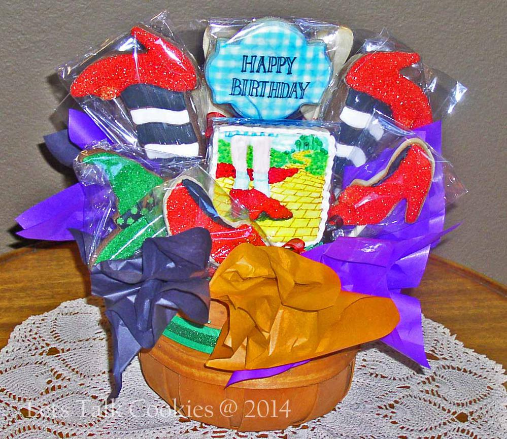 Wizard of Oz Cookie Bouquet