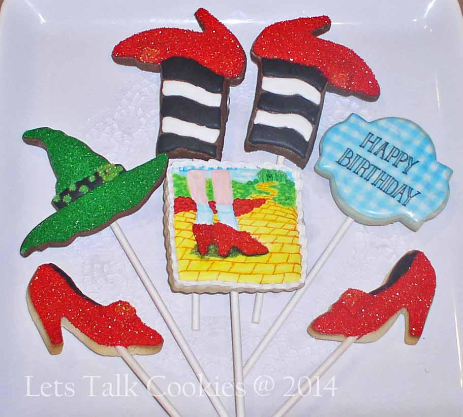 Wizard of Oz Cookies - Another View