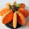 3-D Halloween Pumpkin Cookie