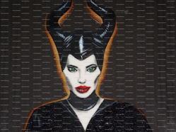 Angelina Jolie Maleficent Cookie