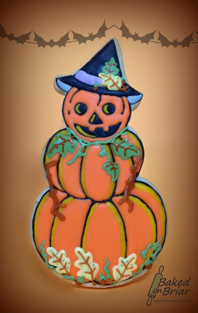 Vintage Pumpkin Witch