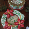 3-D Christmas Cookie Boxes, Two Styles: Cookies and Photo by Julia M Usher