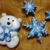 Christmas in blue / Navidad azul