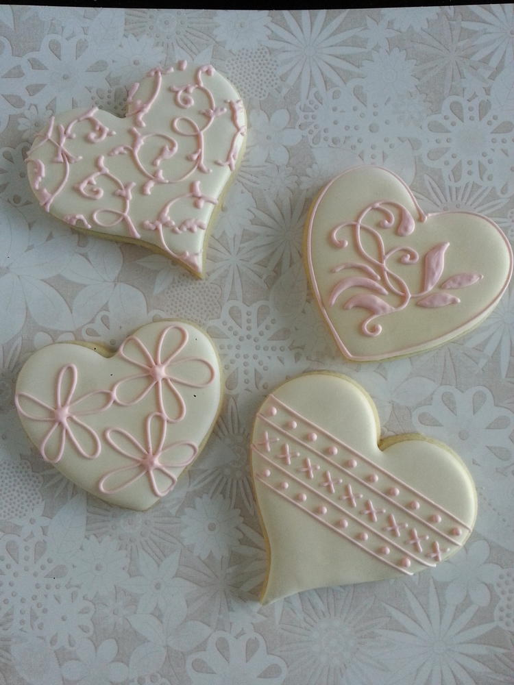 Gatsby wedding shower cookies