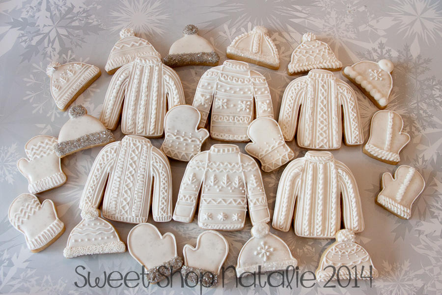 sweater mitten snow hat cookies (2 of 6)