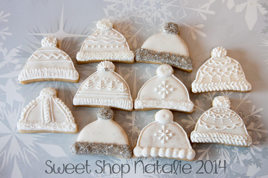 sweater mitten snow hat cookies (6 of 6)