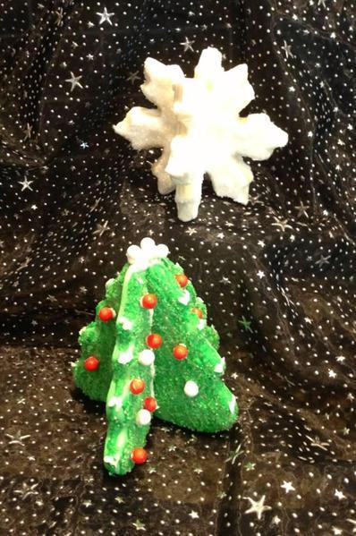 3-D Christmas