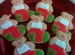 Christmas teddy bear!