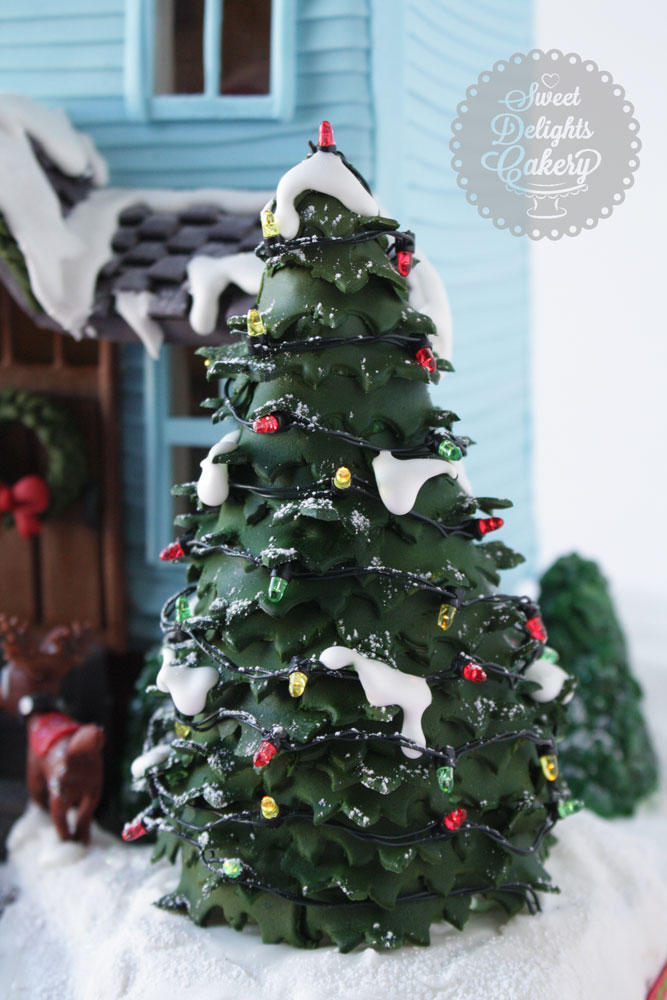 Santa Themed Christmas Trees