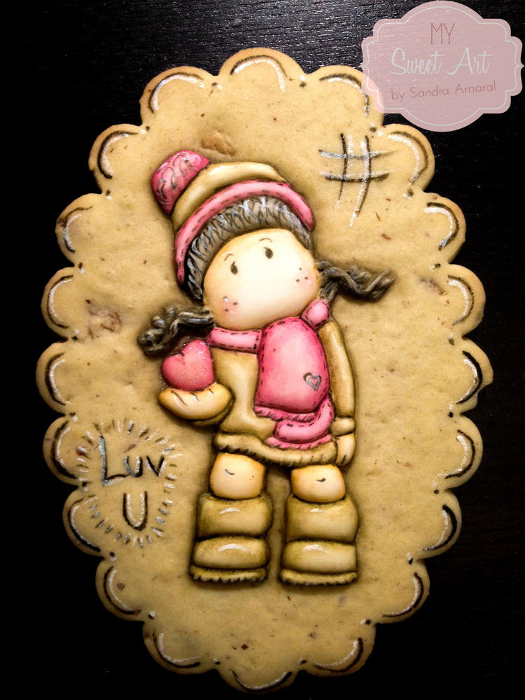 Girl Cookie