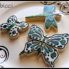 Stained glass Butterfly, Dragonfly
