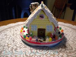 Ginger Bread House back
