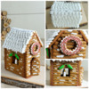 Christmas Gingerbread Log Cabin