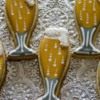 Champagne Flute cookies inspired by Sweetambs Tutorial
