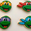 Teenage Mutant Ninja Cookies