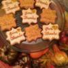 Thanksgiving cookies 2014