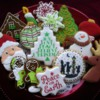 Christmas cookie tray 2014