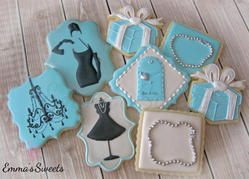 Breakfast at Tiffany's Cookies by Emma's Sweets