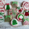 Hand Painted Vintage Inspired Christmas
