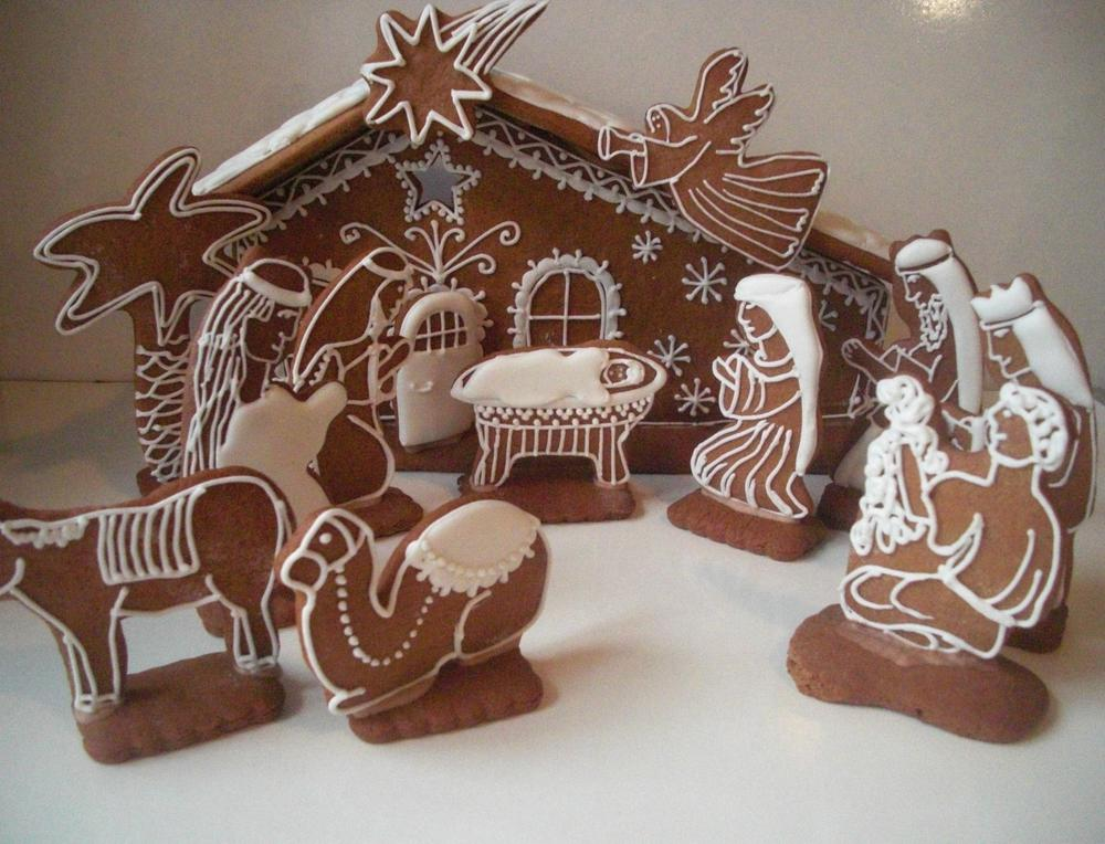 Great Christmas Nativity Scene Cookie Connection