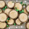 Woodland Christmas Log Cookies by Melissa Joy