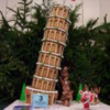 Gingerbread Leaning Tower of Pisa