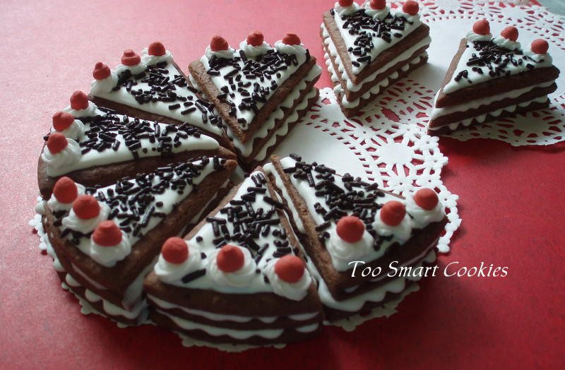 Black Forest Cake Cookies | Cookie Connection