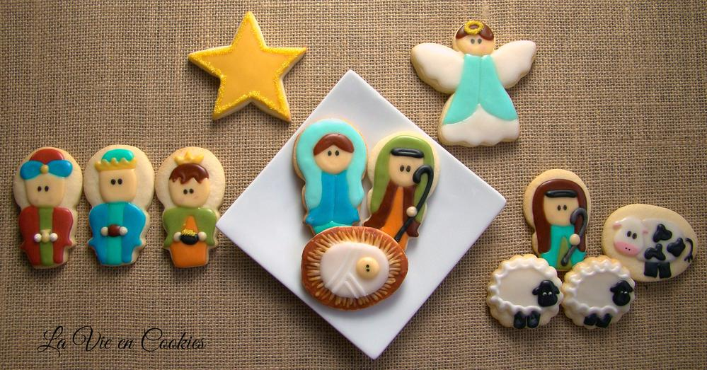 Nativity Cookies Cookie Connection