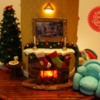 Fire Place: lighted Fireplace