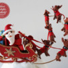 Santa and Reindeer: Santa and Reindeer