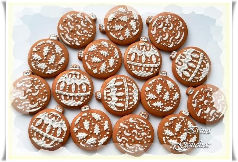 Gingerbread  for New Year and Christmas