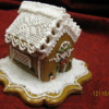"""2 1/2"""" Gingerbread house"""