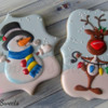 Snowman and Reindeer Cookies by Emma's Sweets