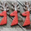 Red Swirly Reindeer | Bakerloo Station