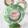 3-D Christmas Snow Globes