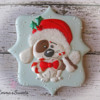 Christmas Puppy Cookie by Emma's Sweets