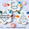 Christmas Paint Your Own Cookies