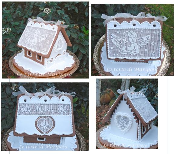 My Christmas Angel Gingerbread House